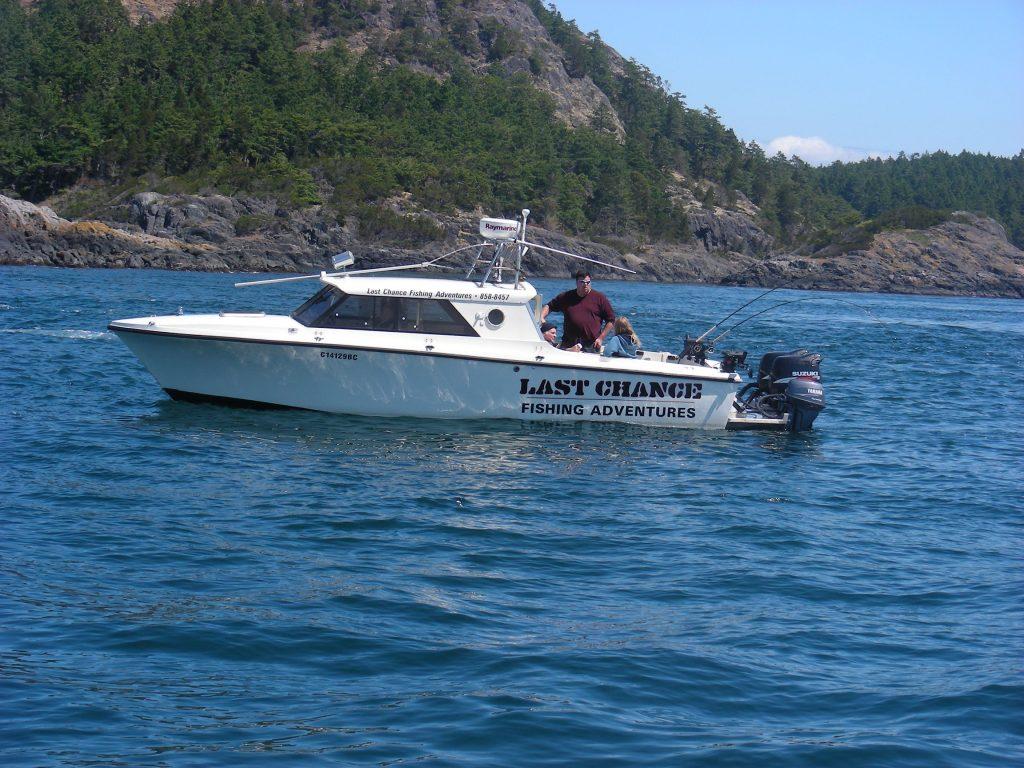 Victoria BC Fishing Charters Boat
